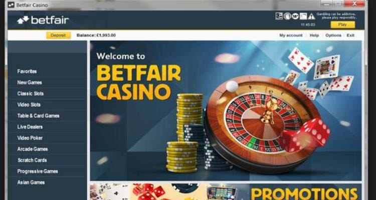 BetFair Casino Review